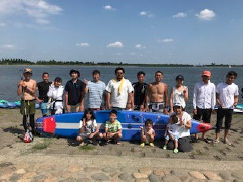 谷中湖SUP体験会